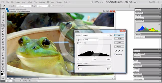 Photoshop CS5.5 Tutorial – Learn How to Use Photoshop Palettes